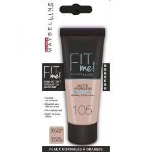 Maybelline Fit me 105 Natural Ivory - Poudre mat