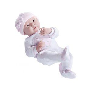Berenguer Poupon newborn nouveau ne sexue fille pyjama manches longues 38 cm