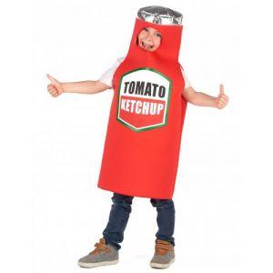 Déguisement ketchup enfant 10 12 ans (L)