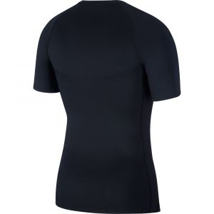 Nike Haut à manches courtes Pro pour Homme - Noir - Taille L - Male