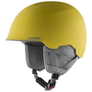 Alpina Casques Maroi Junior - Curry / Grey Matt - Taille L