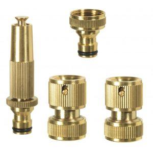 Ribiland PRA/TLB.4305 - Kit laiton lance avec raccords + nez de robinet