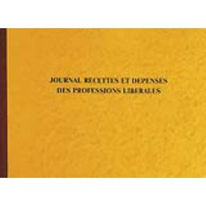 Exacompta Registre spécial professions libérales 80 pages à 29 lignes (270 x 380 mm)