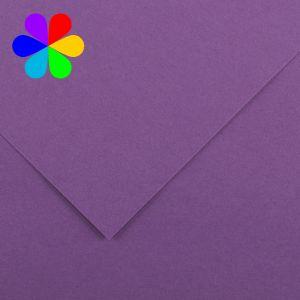 Canson 200040795 - Feuille Iris Vivaldi A4 240g/m², coloris violet 18