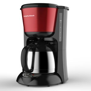 Morphy richards Cafetière isotherme Accents Thermos Prog. Rouge