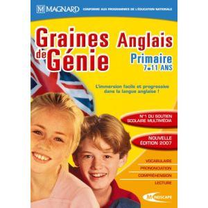 Graines de génie : Anglais Primaire 2006/2007 [Windows]