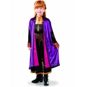 Rubie's Déguisement Officiel Luxe Anna La Reine des Neiges 2 - Taille 5-6 ans