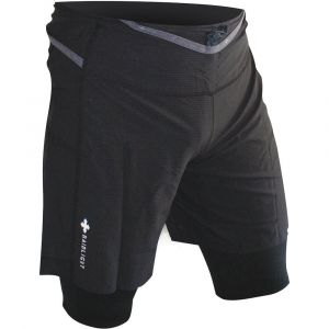 Raidlight RESPONSIV 2IN1 SHORT NOIR - Taille S
