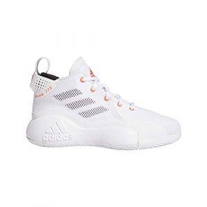 Adidas D Rose 773 2020 J, Basket Mixte Enfant, FTW Bla/Rojsol/Negbás, 37 1/3 EU