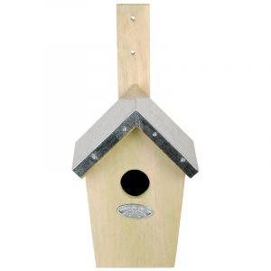 Esschert design Nichoir vert pour oiseaux