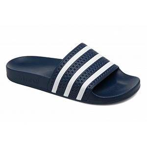 Adidas Adilette, Chaussures de Plage & Piscine Adulte, Bleu, 44.5 EU 10 UK