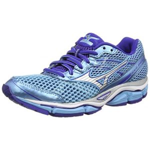 Mizuno Wave Enigma 5, Chaussures de Running Compétition femme - Bleu - Blue (Bluegrotto/Silver/Cblue),37 EU (4.5 UK)