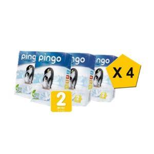 pingo Couche taille 2 Mini (3-6 kg) - paquet de 124