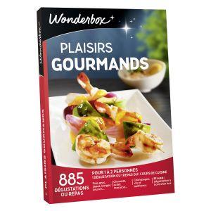 Wonderbox Plaisirs gourmands - Coffret cadeau 885 dégustations ou repas