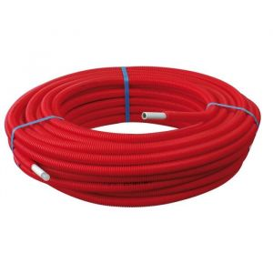 Somatherm 50m Tube Multicouche Ø20x2,0 Prégainé Rouge