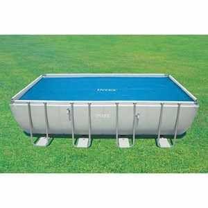 Intex Bâche à bulles (L5.49 m) pour piscine rectangulaire