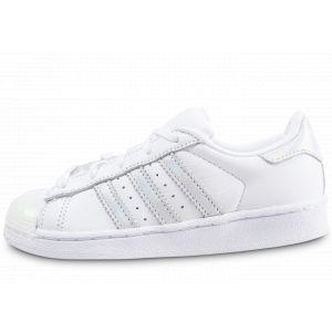 Adidas Soldes - Baskets/Tennis Superstar Enfant Iridescent Et Blanche Enfant