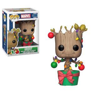 Funko Figurine POP! #399 - Marvel - Groot Noël