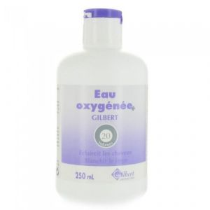 Gilbert Eau oxygénée 20 volumes - 250 ml fluide