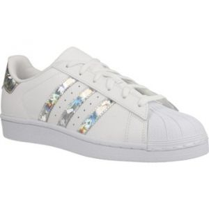 Adidas Superstar J, Chaussures de Gymnastique mixte enfant - Blanc