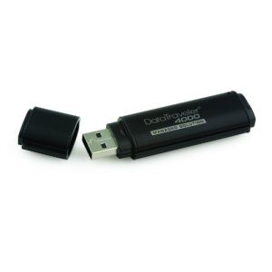 Kingston DT4000M/16GB - Clé USB 2.0 DataTraveler 4000 Managed 16 Go avec cryptage AES