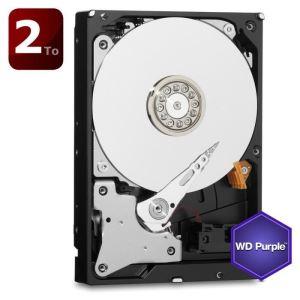 "Western Digital WD20PURX - Disque dur Purple 2 To 3.5"" SATA III"