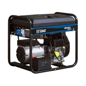 SDMO Diesel 10000 E XL C - Groupe électrogène monophasé diesel 9kw