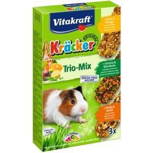 Vitakraft Assortiment, miel, citron et légumes, aliment complémentaire pour Cochons d'Inde