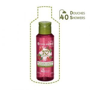Yves Rocher Gel douche concentré parfum Grenade baies roses