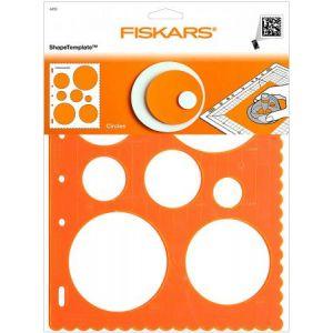 Fiskars Gabarit de découpe cercles