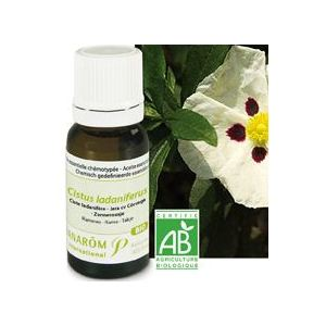 Pranarôm Ciste ladanifere - Huile essentielle Bio (5 ml)