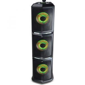 Black Panther City GIGA MIX Sono sans fil transportable DJ Mix Bluetooth - Technologie Bluetooth - Puissance de crête 500w max / Puissance RMS180w - Autonomie jusqu à 6 heures