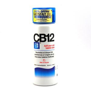 CB12 Bain de bouche menthe forte