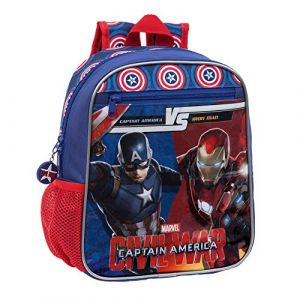 Sac à Dos Enfant Avengers 28 cm bleu