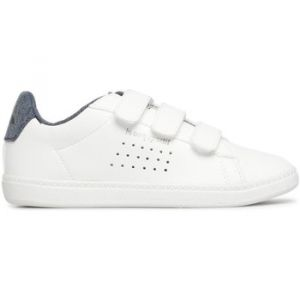 Le Coq Sportif Courtset INF Craft Optical White/Dress b, Bottes & Bottines Bébé garçon, Blue Blanc, 22 EU
