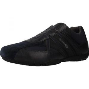 Geox Homme Slipon RAVEX, Monsieur Baskets,Chaussures Basse,Slip-on,Chaussures de Sport,flâneur,Pantoufles,perméable à l'air,Blau,43 EU / 9 UK