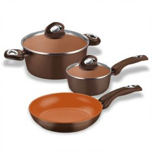 Bialetti Batterie 5 pièces Madame Terracotta