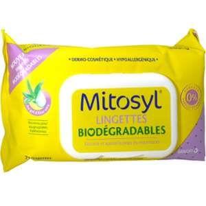 Image de Mitosyl Lingettes biodégradables - 72
