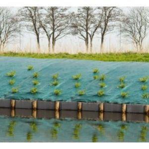 Toile de paillage paysages - vert 90 gr/m²- 5,2x5m