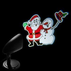 Projecteur laser Père Noël Multicouleur 3 LED