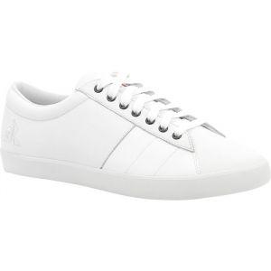 Le Coq Sportif Baskets basses Flag Premium en cuir Blanc