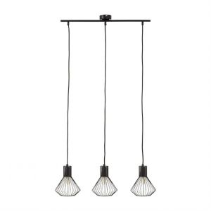 Brilliant AG Suspensions DALMA-Suspension Barre 3 lumières Métal L60.5cm Noir