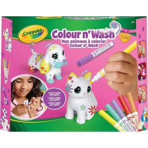 Crayola Coffret Colour'n'Wash - Figaro et Missy