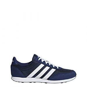 Adidas V Racer 2.0 Homme, Bleu (Azuosc/Ftwbla 000), 41 1/3 EU