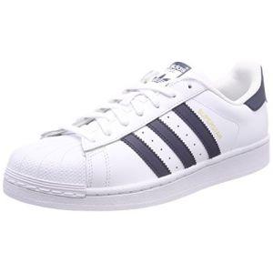 Adidas Superstar, Baskets Homme, Blanc (Footwear White/Collegiate Navy/Footwear White