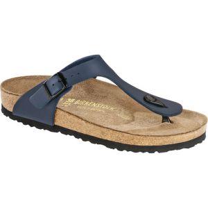 Birkenstock Gizeh Birko Flor Womens Sandals 38 EU Blue