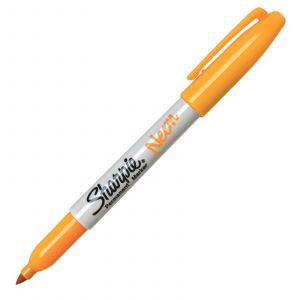 Sharpie Marqueur permanent Neon 0,9 mm - Orange