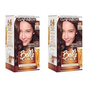 Garnier Belle color 4.13 châtain