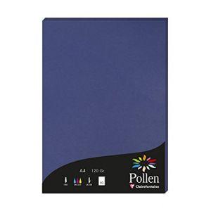 Pollen 1 étui de 50 feuilles 210x297 mm 120g - Bleu nuit