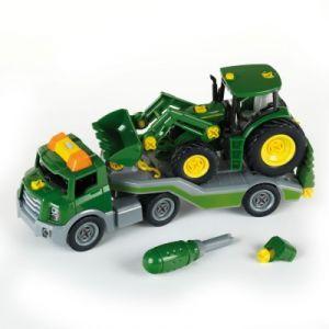 Klein 3908 - Transporteur John Deere avec tracteur